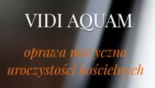 Vidi Aquam-oprawa muzyczna uroczystości kościelnych WIELKOPOLSKIE  -  Poznań  -  wielkopolskie