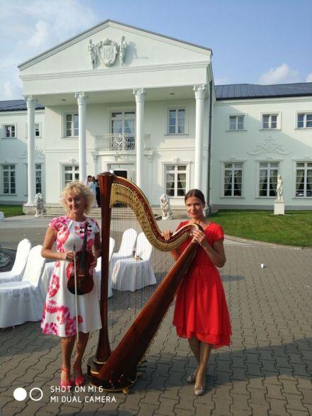Skrzypce - Skrzypaczka / Harfa & Skrzypce oprawa muzyczna ślubu  -  Warszawa  -  mazowieckie